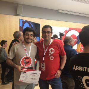 Pablo Oliete con Álvaro García