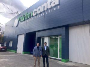 Pablo Oliete y Alfonso Corbalan CEO de Hidroconta
